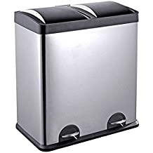 Amazon Com Side By Side Trash Can