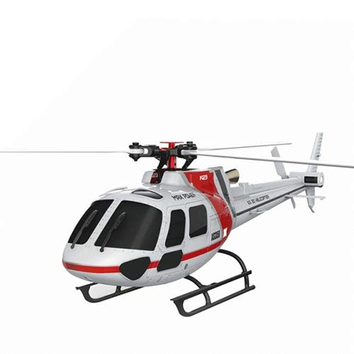CGIIGI RC K123 Six-Channel Remote Control Aircraft V931 Upgraded Version Simulator Model Helicopter Adult Children Remote Control Outdoor Flying Toy Airplane