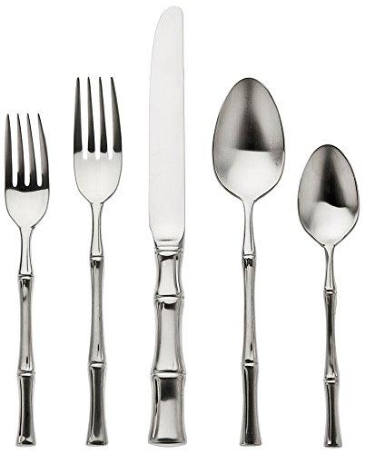 Ricci Argentieri 18/10 Satin Bamboo (Ricci Sterling Silver Spoon)