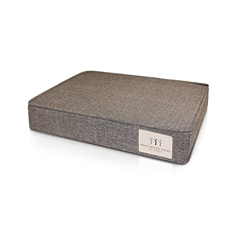 Brentwood Home 4-Inch Gel Memory Foam Orthopedic Pet Bed, 100% Made in...