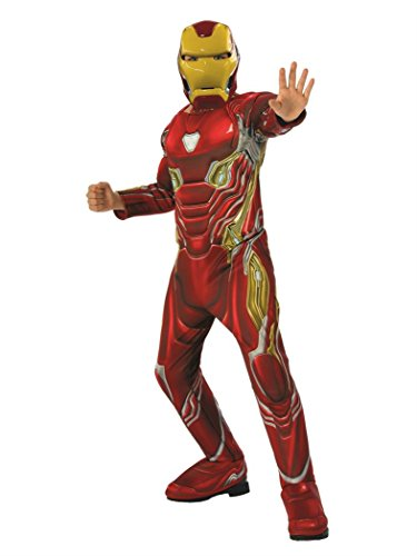 Rubie's Marvel Avengers: Infinity War Deluxe Iron Man Child's Costume, Medium