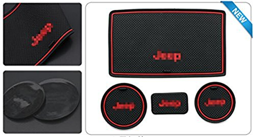 jeep auto cup holder coasters - 6