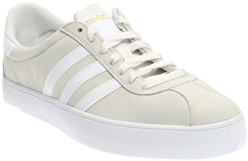 Adidas Herre Skate Adv Krystal Hvid / Hvid / Guld Metallic mTx9M