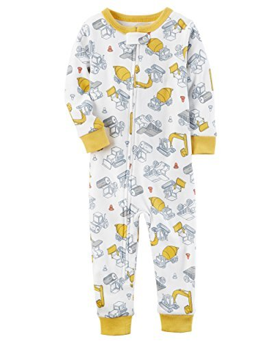 8475ccf3f54b Galleon - Carter s Baby Boys  1-Piece Snug Fit Footless Cotton ...