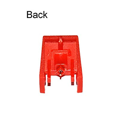 Replacement Stylus Turntable Needle for ION ICT04RS - ION TTUSB, TTUSB10, ITTCD10, LPDock, LP2CD, LP2Flash, IProfile and Profile Flash (Pack of 2) Red
