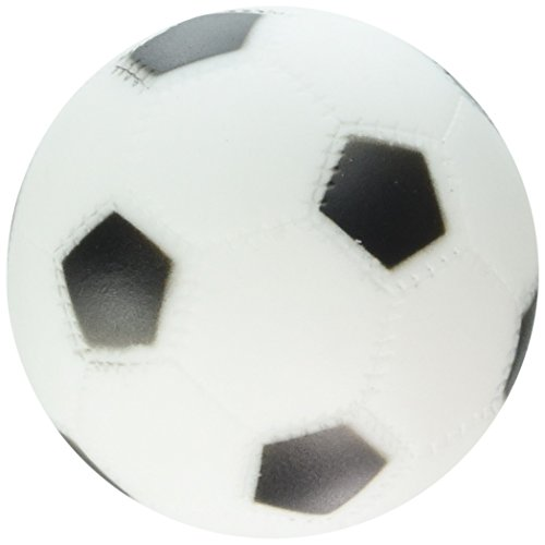 Boss Pet 51341 Vinyl Soccer Ball Dog Toy with Squeaker