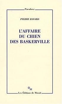 L'affaire du chien des Baskerville par Bayard