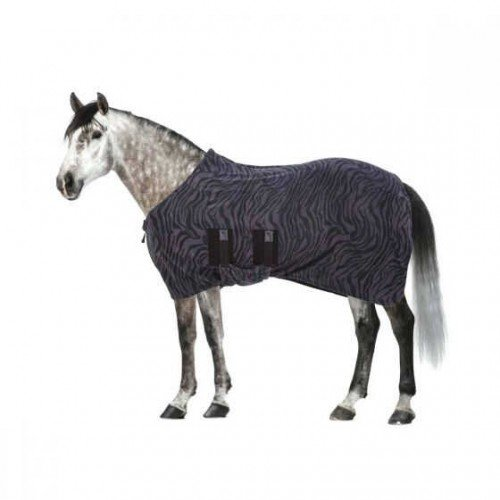 Black 4 ft 6 Black 4 ft 6 Masta Fleece Base Layer Rug With Standard Neck (4 ft 6) (Black)