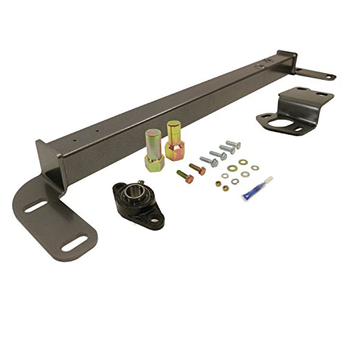 BD Diesel 1032003 Steering Stabilizer Bar Incl. Steering Box Support/Sector Shaft Bolt/Bearing Assy/Hardware/Thread Lock Steering Stabilizer ()