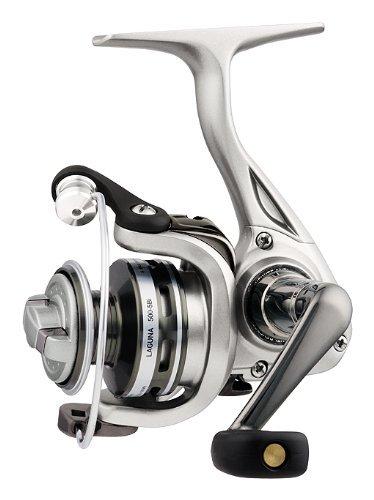 Cp Spinning Reel (Daiwa LAG500-5Bi-CP Test Spinning Fishing Reel, 2-6 lb, Silver)