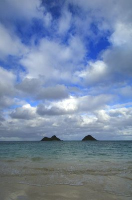 ''Lani Kai Island View'' Art Photograph Oahu Hawaii By Michael Verlangieri by By Michael Verlangieri