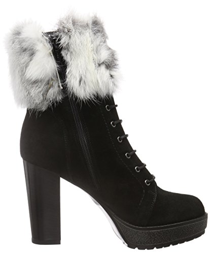 Manas St.Moritz, Women's Warm-Lined Short-Shaft Boots and Bootees Black (Nero)