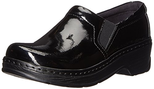 - Klogs USA Women's Naples Mule, Black Patent, 6 M US
