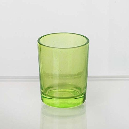 Tableclothsfactory Apple Green Votive Candle Holders-12/pk