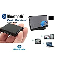NEW iBoxDeals Bluetooth Music Receiver 30 pin dock adapter for iPhone iPod A2DP Audio Speaker for iPod, iPad, iPhone 4 4S