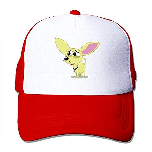 fashion-puppy-dog-eyed-squirt-adult-nylon-adjustable-mesh-hat-baseball-caps
