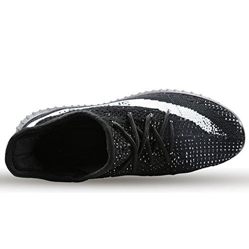 YEEZYM Mode Leichte Turnschuhe Unisex Schuhe Für Paar Männer Frauen Schwarz