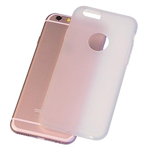 iPhone 6/6s 4,7 Zoll Hülle Matt Silikon TPU Slim Case Schutzhülle 1,2 mm