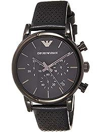 Men's AR1737 Dress Black Leather Watch