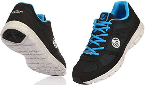 1201 Super Unisex Turnschuhe Paperplanes Black Mesh leichtes 1203 Walking Blue vU1qqxnEwd