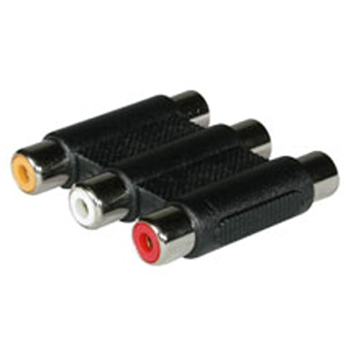 C2G/Cables to Go 40647 Composite Video and Stereo Audio F/F Coupler