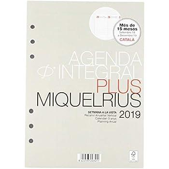 Amazon.com : Miquelrius 36745 - Agenda Annual Week View ...