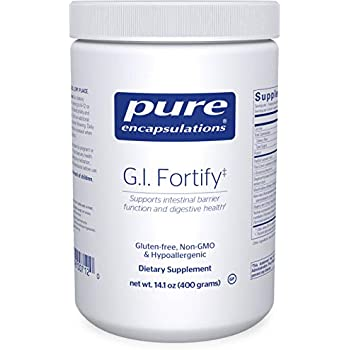 Pure Encapsulations - G.I. Fortify - Supports The Function, Microflora Balance, Cellular Health, and Detoxification of The G.I. Tract* - 400 Grams