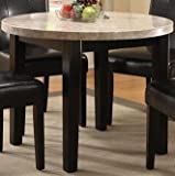 Furniture of America CM3866RT-40 Marion I Marble Top Round Dining Tables Review