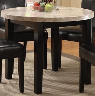 Furniture of America CM3866RT-40 Marion I Marble Top Round Dining Tables
