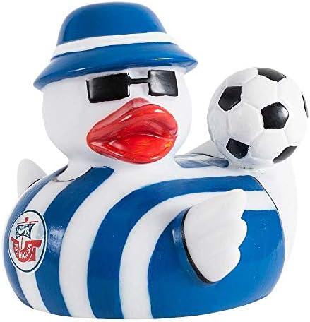F.C. Hansa Rostock Badeente – Fischerhut – Qietscheente, Ente, Duck (L/WIR)