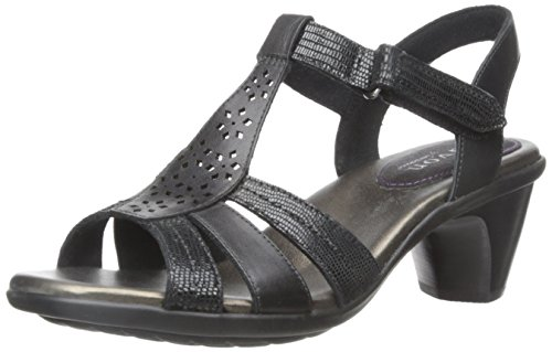 Aravon Women's Mary-AR Dress Sandal,Black,9.5 B US by Aravon By New Balance