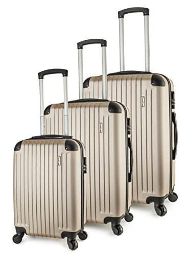 travelcross-columbia-luggage-3-piece-lightweight-spinner-set-champagne