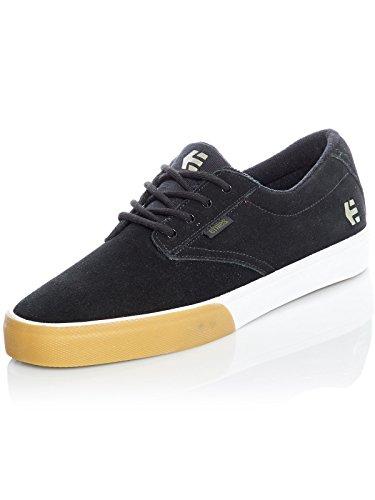 Etnies Men Jameson Vulc Skateboarding Shoes Black (Black/Gum/White 968)