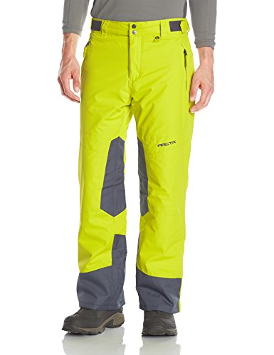 Arctix Men's Zurich Insulated Pants, Citronelle, 2X-Large (Mens Skiing Bibs)