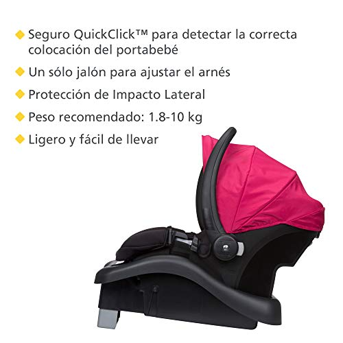 41qdS Jy6tL - Safety 1st Smooth Ride Travel System With OnBoard 35 LT Infant Car Seat, Sangria