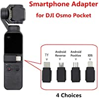 FidgetGear for DJI Osmo Pocket Smartphone Adapter Micro USB (Android) Type-C iOS for OSMO Pocket Handheld Gimbal Accessiories Android Reverse