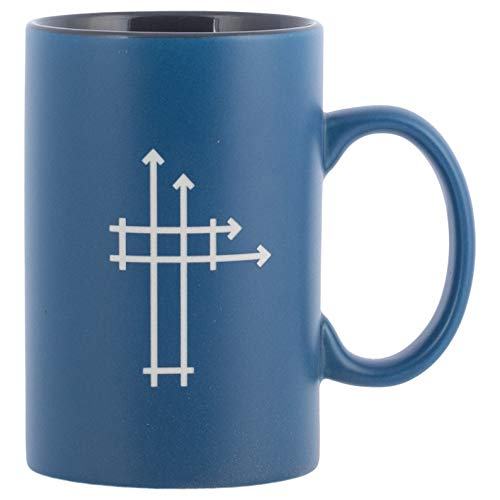 Spanish-Mug-Blueprints for Life (1 Cor 3:11 RVR60) (14 Oz) (Glory Be To The Father In Spanish)