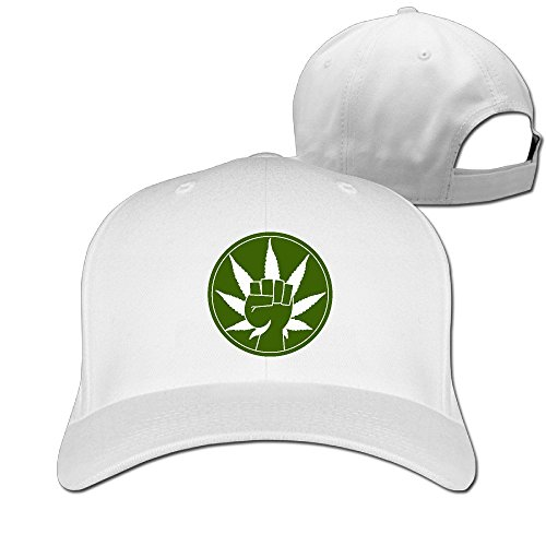 [Show Time Green Revolution UV Protect Peaked Cap Flexfit Cap White] (Doctor Barbie Costume)