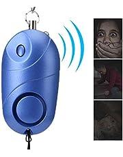 Alarma Personal 130db, Llavero de Alarma de Seguridad Personal con luz LED, Mini Sirena de Seguridad de autodefensa de Emergencia para Mujeres/niños/Ancianos/niñas