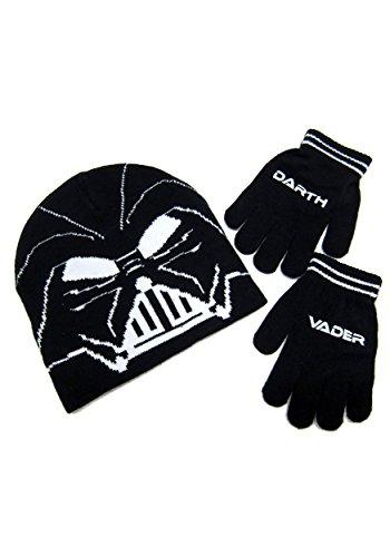 STAR WARS Boy's Little Darth Vader & Glove Set, Black, One Size -