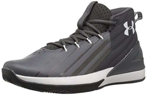 - Under Armour Men's Launch Basketball Shoe, Charcoal (100)/White, 8