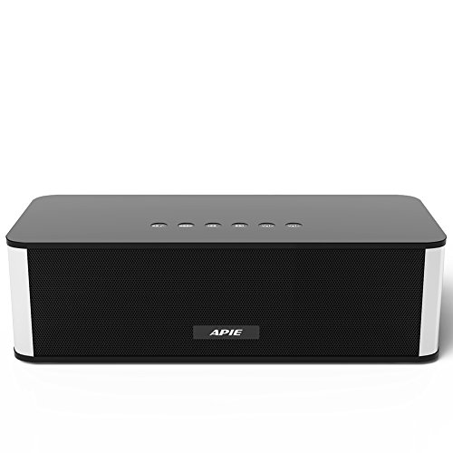 APIE Wireless Bluetooth Speaker Portable Stereo FM Radio, Su