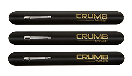 Waiters Crumb Scraper - The Crumb Sweep, crumber tool - 3 crumbers in a package. Ideal for the busy restaurant waiter, waitress and server