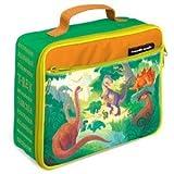 "Crocodile Creek Classic Lunchbox - Dino Kingdom 10"" x 7.5"""