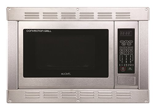 (1.0 Cubic Ft., 120v Stainless Steel Home Microwave Convection Oven and Grill with Built-in Trim Kit)