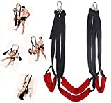 Spinning Heavy Duty Love Swing for Adults in Red