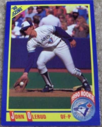 1990 Score Mlb Rookie Card - 1990 Score John Olerud #589 MLB Baseball Rookie Card