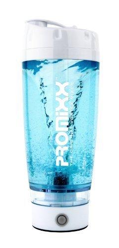 PROMiXX: The Original Vortex Mixer. Beautifully Engineered High-torque Battery-powered Protein Shaker/Blender Bottle with X-blade Technology. 100% Leak-proof Guarantee. 600ml /20oz. BPA-free.