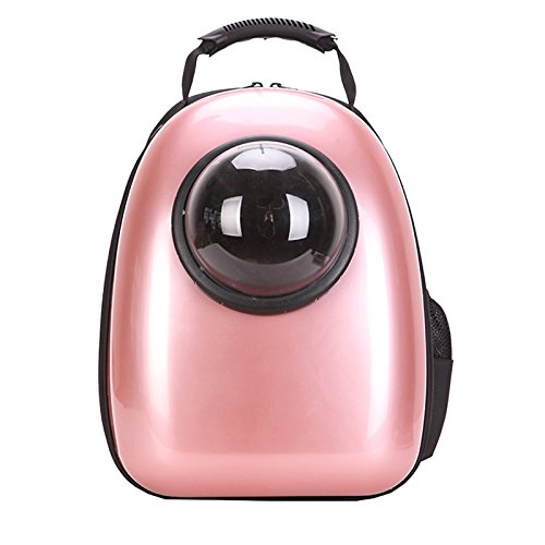 - Geralds comfortableful Carrier Dog Cat Space Capsule Shaped Pet Travel Carrying Breathable Shoulder Backpack Outside Travel Portable Bag Pet Products