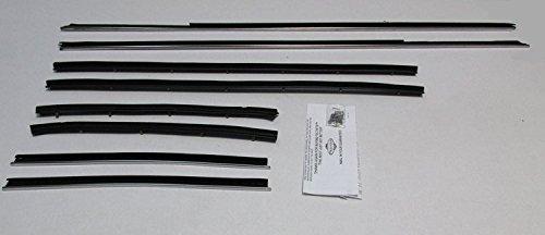 Sedan Weatherstrip Kit (Window Sweeps Felt Kit Weatherstrip For 1970 1/2 Ford Falcon/Maverick Sedan)